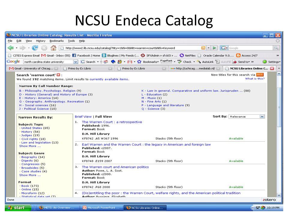 NCSU Endeca Catalog 37