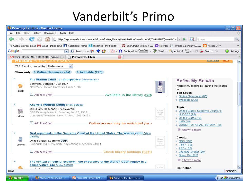 Vanderbilts Primo 38