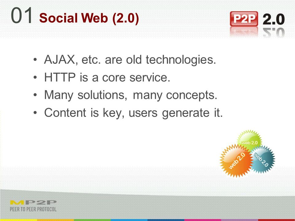 AJAX, etc. are old technologies. HTTP is a core service.