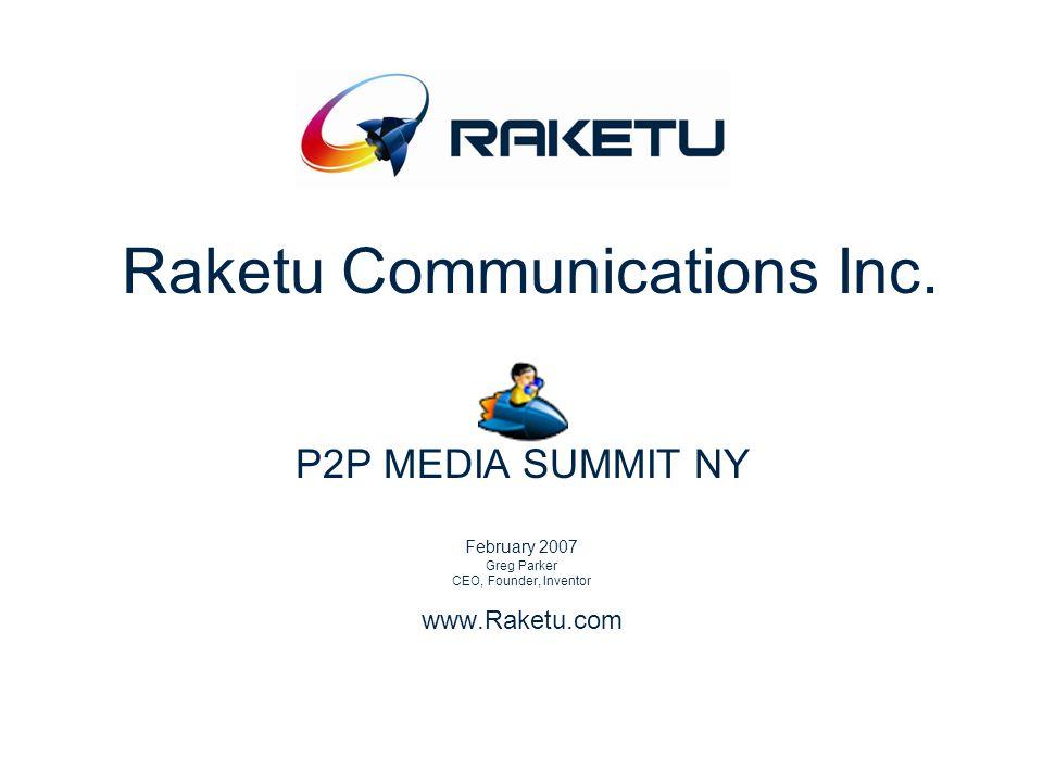 Raketu Communications Inc.