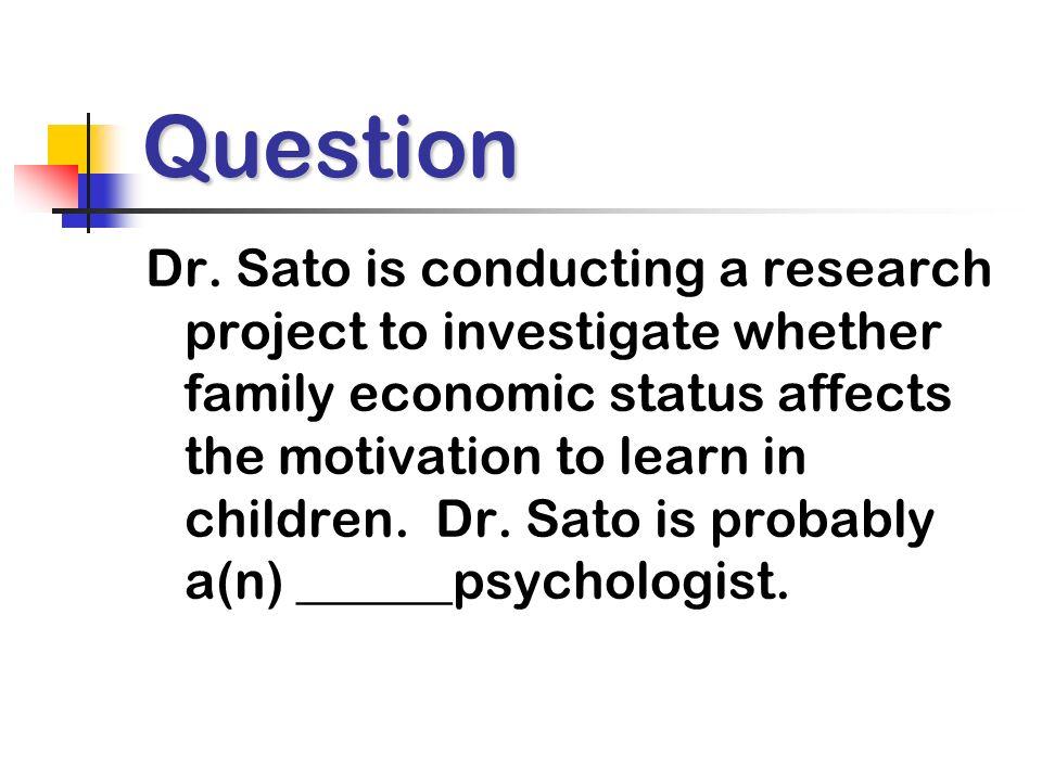 Question Dr.