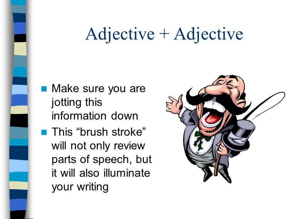 Image Grammar Brushstroke #1