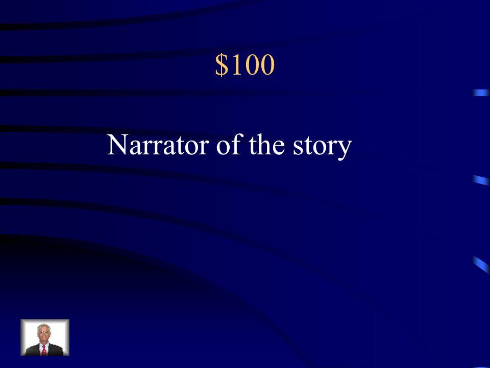 Jeopardy Characters True/False Plot Who Said It? Literary Elements Q $100 Q $200 Q $300 Q $400 Q $500 Q $100 Q $200 Q $300 Q $400 Q $500 Final Jeopard