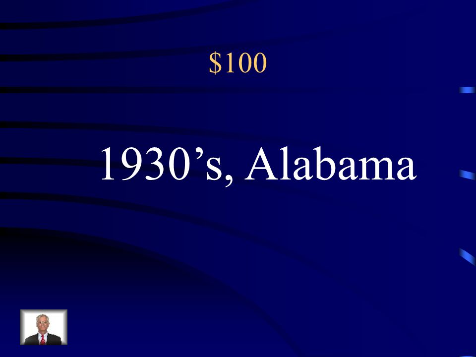100 The action of the novel takes place in the _________ in the Southern state of _________.