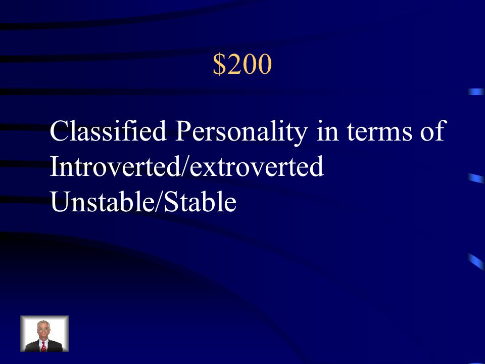 200 This part of your personality protects you. Its based on the reality principle.