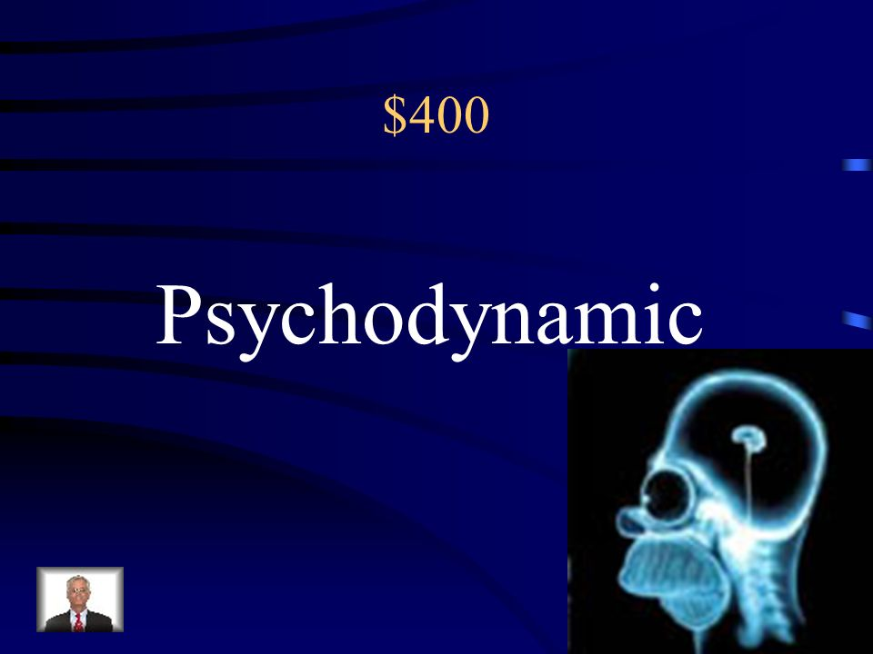 $400 This approach to personality focuses on the unconscious mind