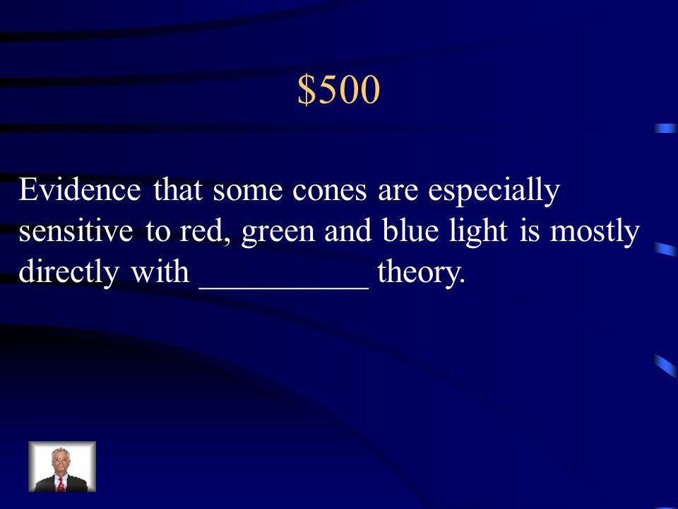 $400 depth perception