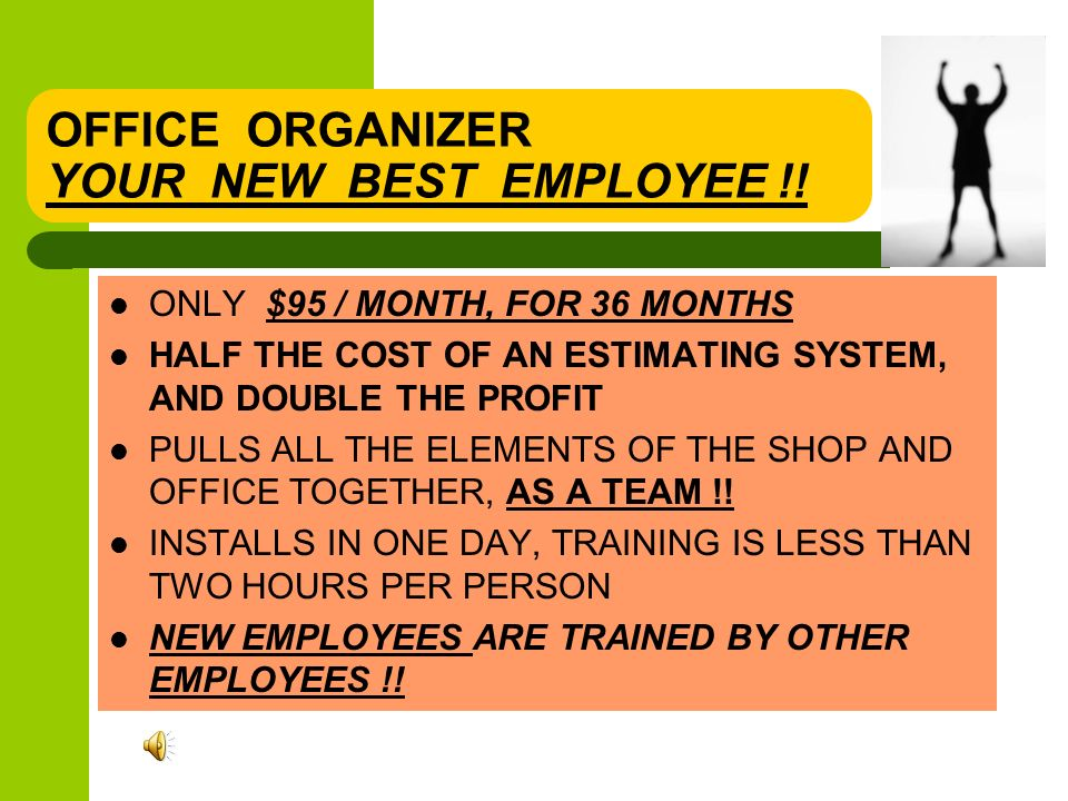 OFFICE ORGANIZER ALL FOR ONLY $5 BUCKS A DAY !.