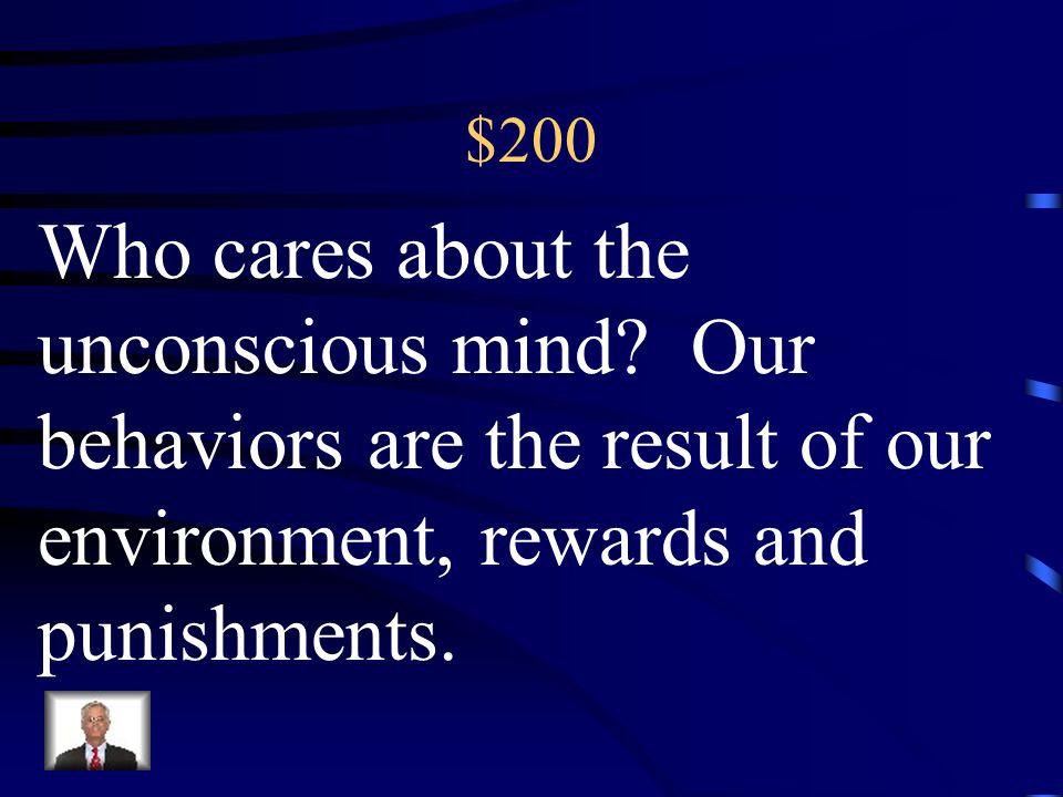 $100 Psychodynamic Sigmund Freud