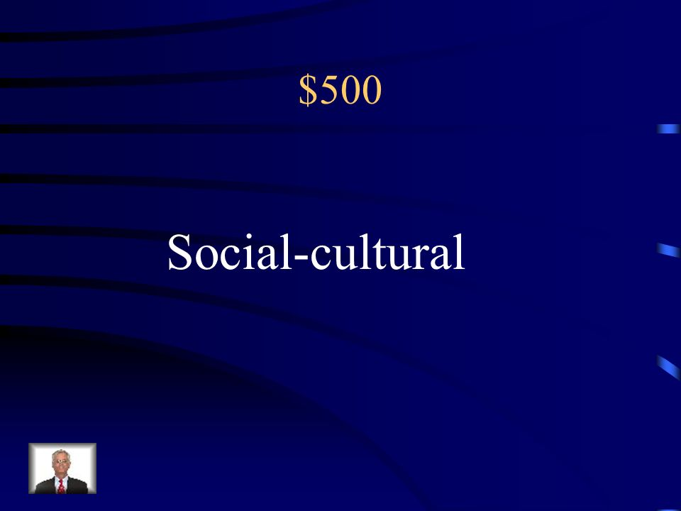 $500 How behavior and thinking vary across situations and cultures