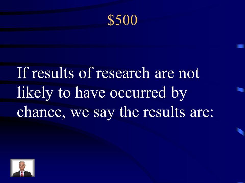 $400 Surveys; Experiments