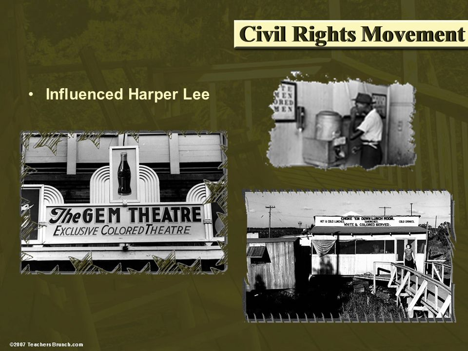 Civil Rights Movement Influenced Harper Lee