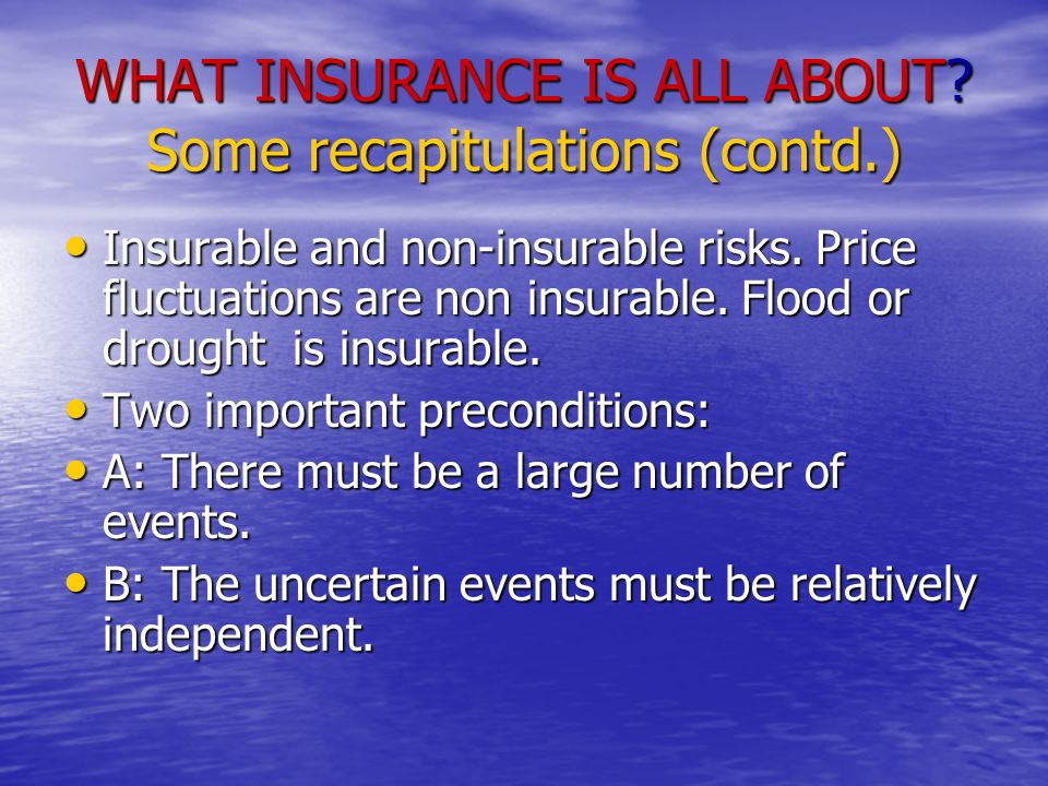 Islamic Criticism to Commercial Insurance Involvement of Riba Involvement of Riba Resemblances to Gambling Resemblances to Gambling If these two defects are removed, then probably there is no objection to Insurance as the Law of Large Numbers is a statistical law.