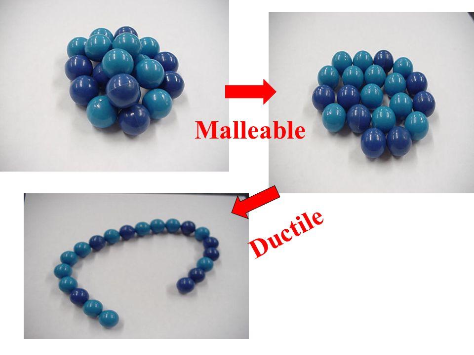 Malleable Ductile