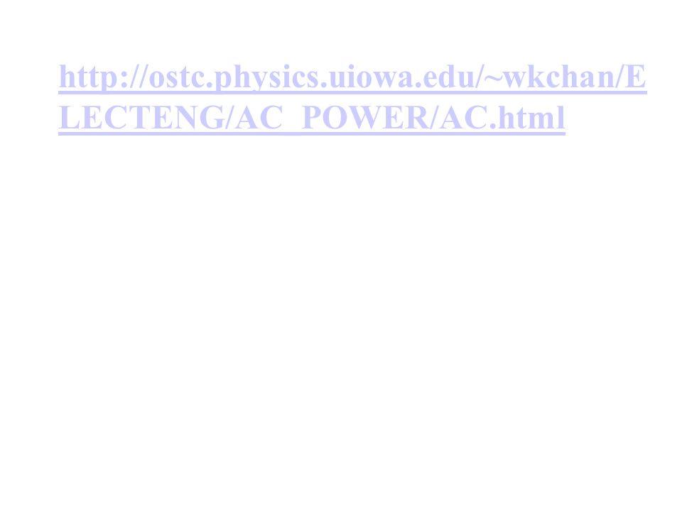 http://ostc.physics.uiowa.edu/~wkchan/E LECTENG/AC_POWER/AC.html