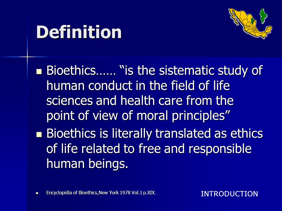 HIPOTHESIS Bioethics can be applied in technical high-schools by including it as a curricular course of 5 hrs a week in 1st, 3rd, and 5th semester of Natural Sciences and Humanities.