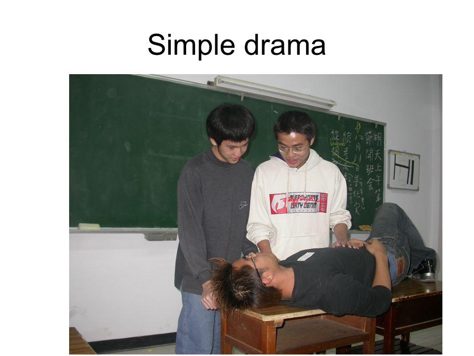 Simple drama