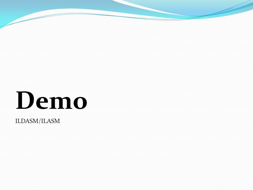 Demo ILDASM/ILASM