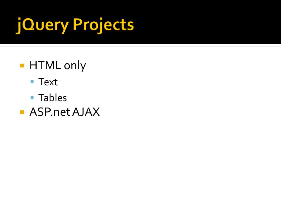 HTML only Text Tables ASP.net AJAX