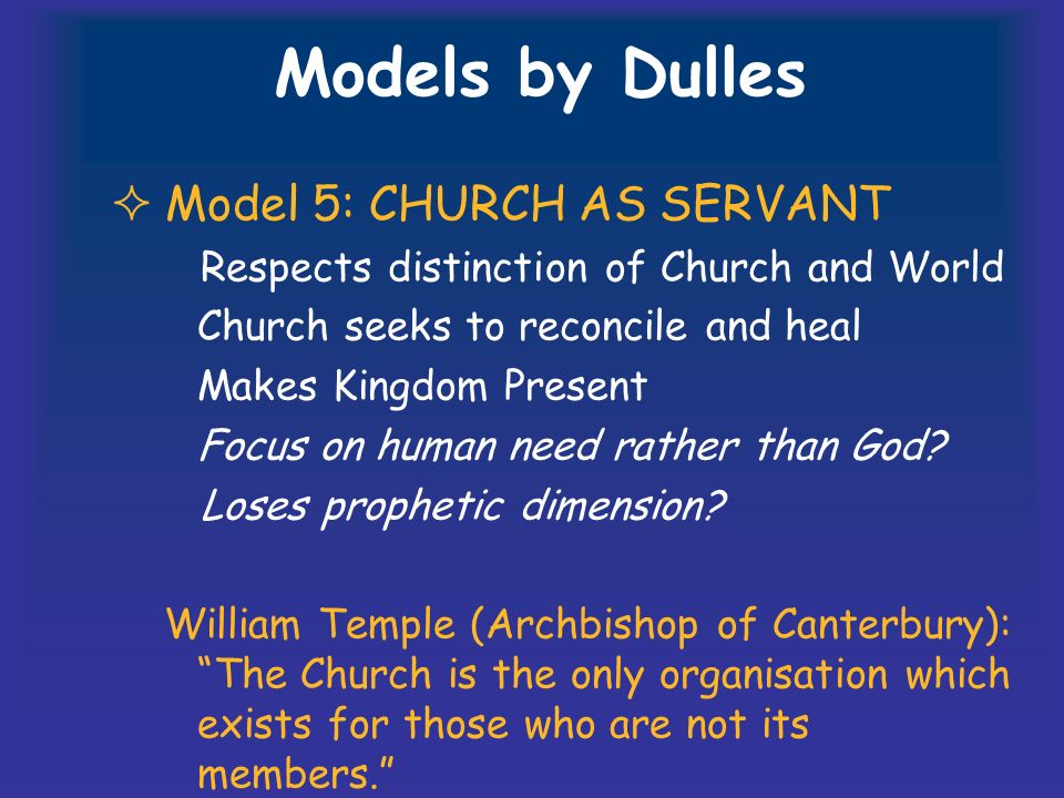 TASK 3 How well does your assigned model fit your parish?