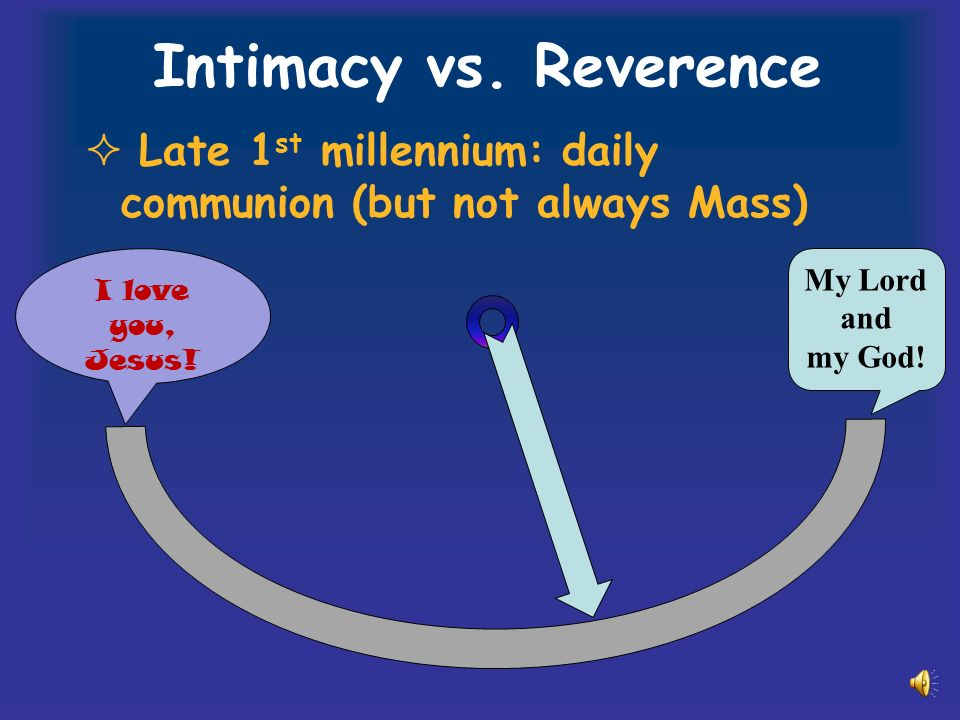 Intimacy vs.