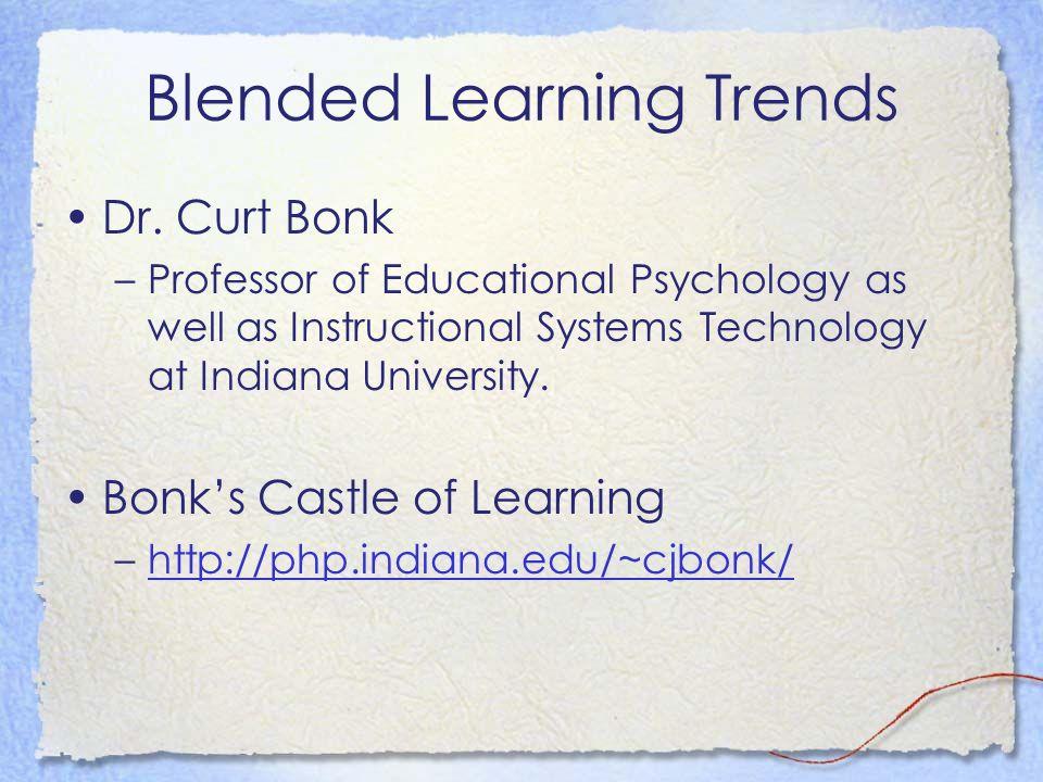 Blended Learning Trends Dr.