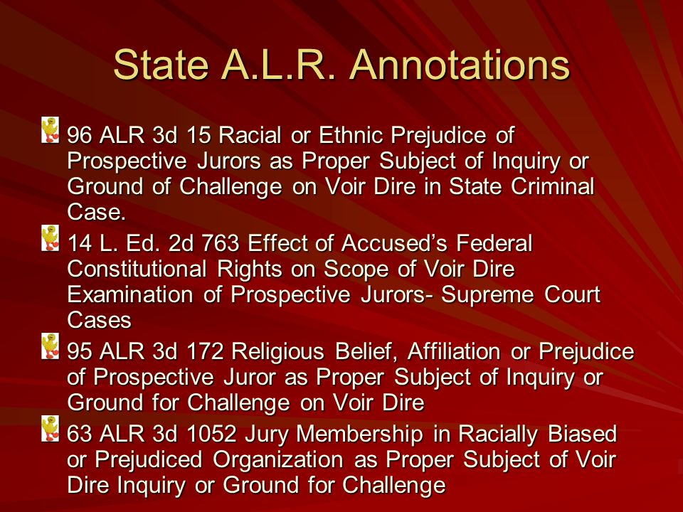Federal A.L.R. Annotations 28 ALR Fed. 27 Romualdo P.