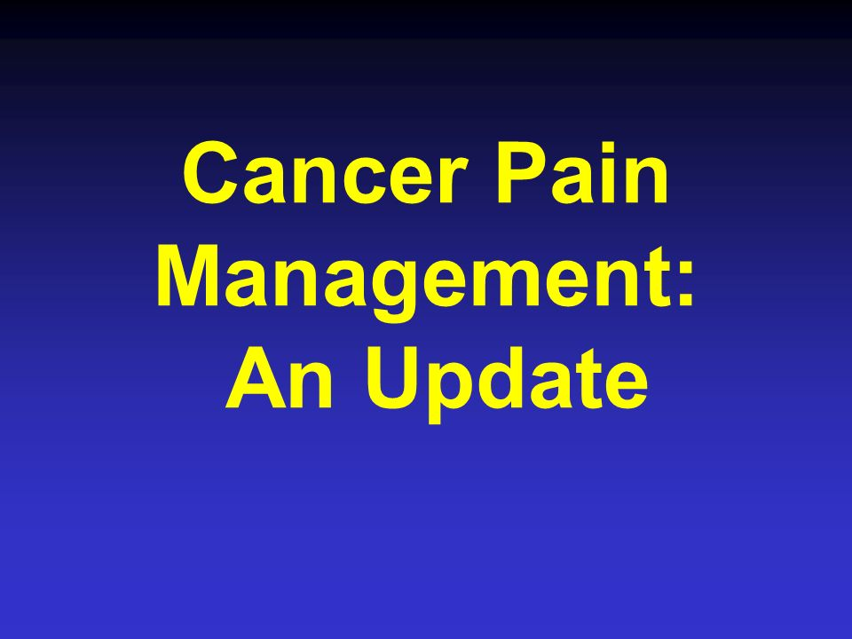 Bone Pain Radiation treatment Single tx (800 cGy) Multiple fx (200 cGy x 3-5) Effective immediately Maximal effect 4 - 6 wks 60-80% pts get relief Strontium-89