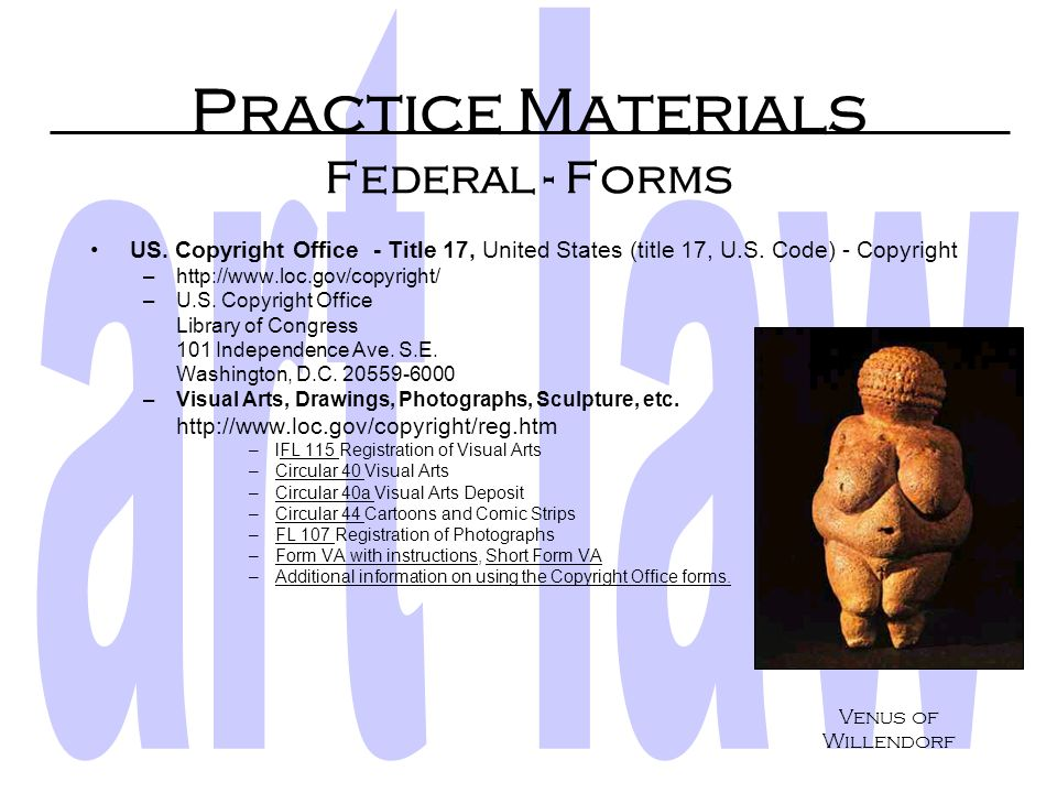 Practice Materials Federal - Proof of Facts KF8933.A43: Art and Artists –Lease of Commercial Premises, art shop: 7 POF 3d 655 § 6 University Club of C