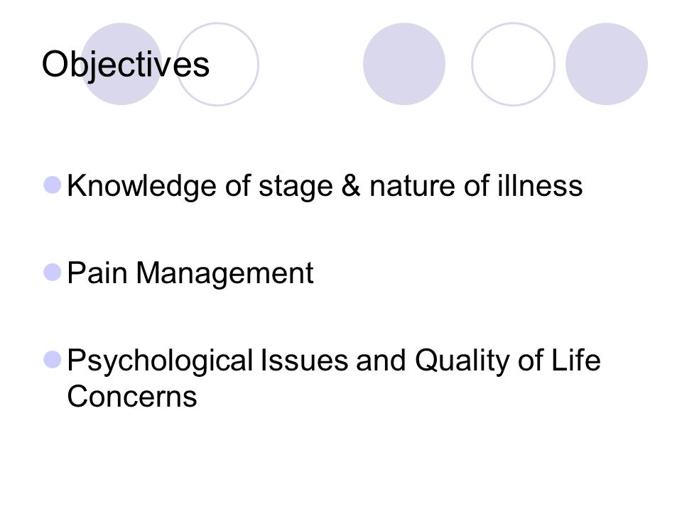 Assessment of Psychosocial and Quality of Life Concerns Naylor, (2000) and Kelly, (2002) Cosmetic effects of dressings Body image alterations Attitudes and feelings regarding wound, cancer and treatment: e.g.