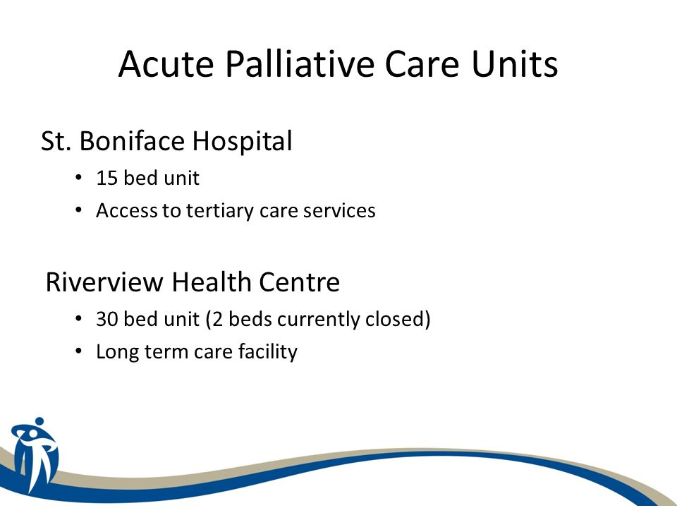 Acute Palliative Care Units St.