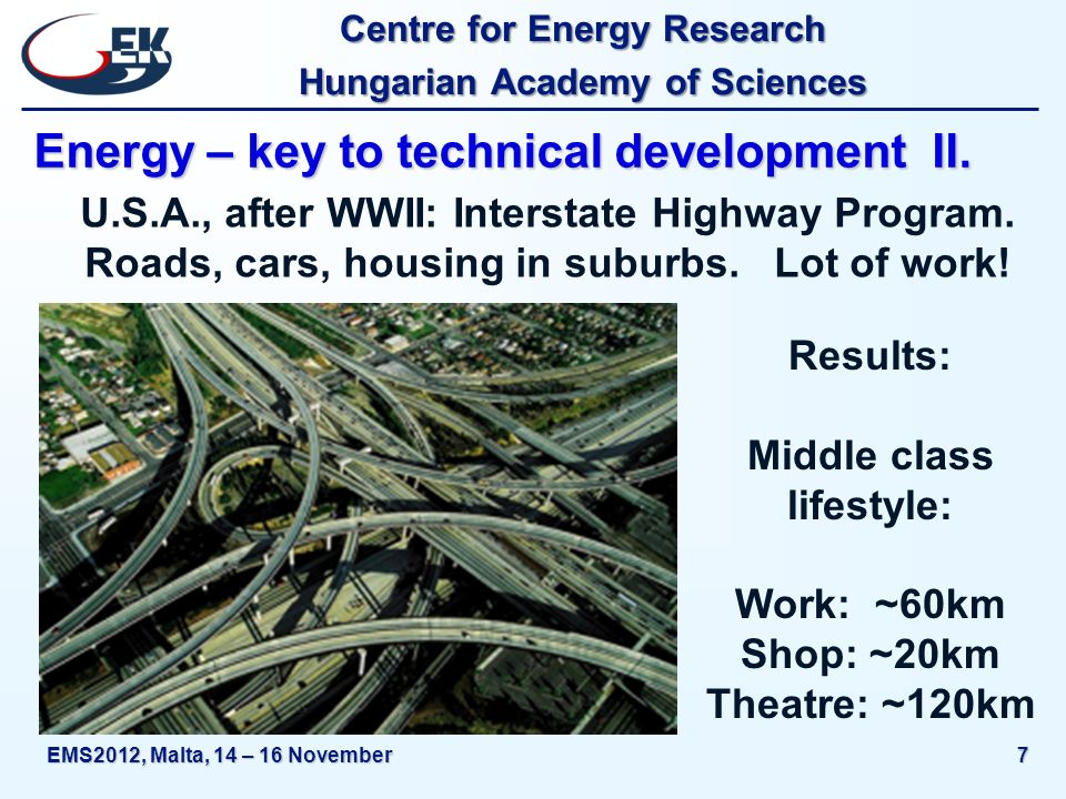 Centre for Energy Research Hungarian Academy of Sciences EMS2012, Malta, 14 – 16 November18 More energy - let s use the sun ?.