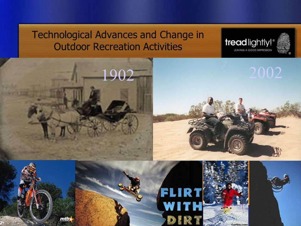 Technological Advances and Change in Outdoor Recreation Activities 1902 2002