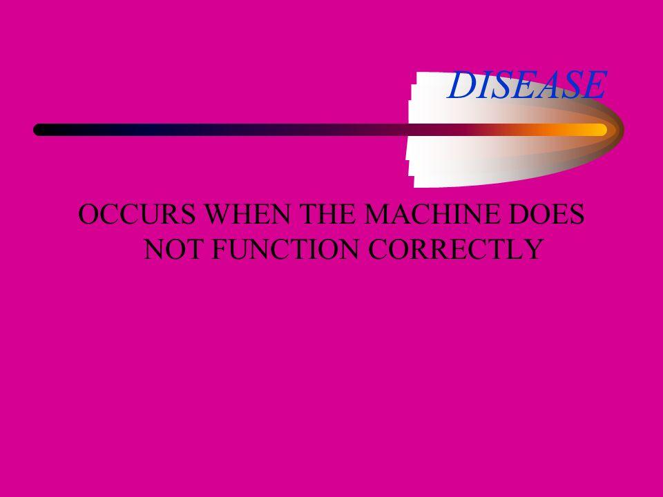 IS AN EFFICIENTAND ORGANIZED MACHINE