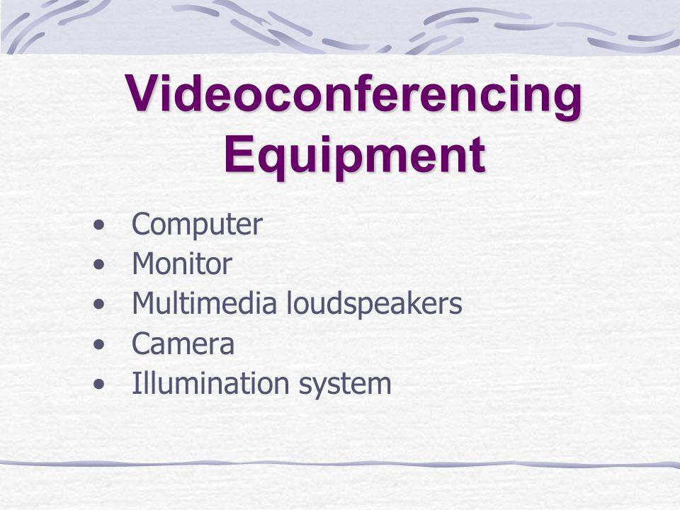 Videoconferencing Equipment Computer Monitor Multimedia loudspeakers Camera Illumination system