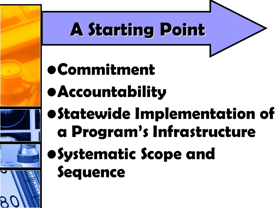 CommitmentCommitment AccountabilityAccountability Statewide Implementation of a Programs InfrastructureStatewide Implementation of a Programs Infrastr