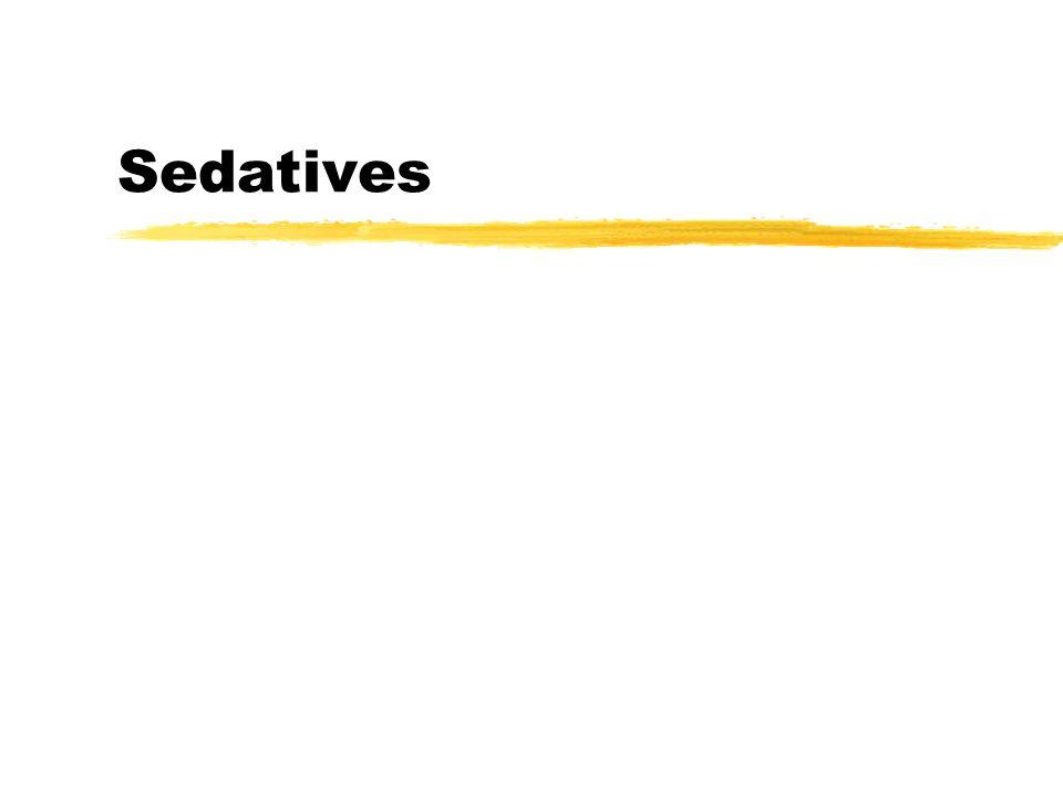Sedatives