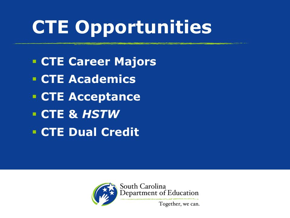CTE Innovation Curriculum o Hydrogen Fuel Cell o Nanotechnology o Biotechnical Engineering o Nuclear Engineering o Automotive Engineering