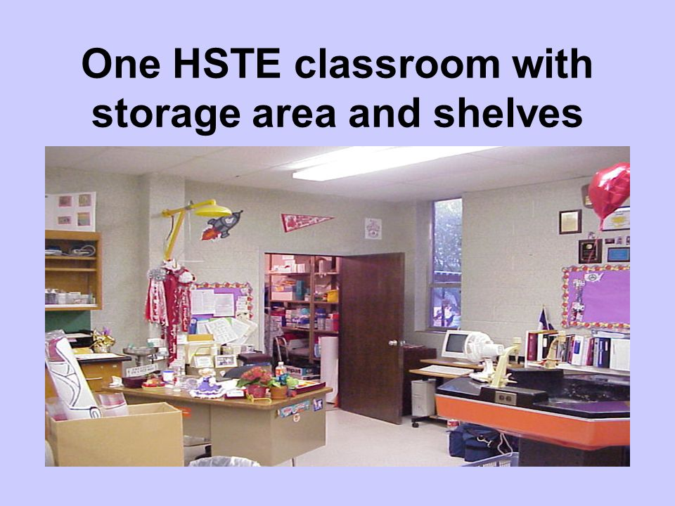 HSTE Theory Classroom Also, suitable for teaching Introduction to Health Science, Medical Terminology, and Sports Medicine