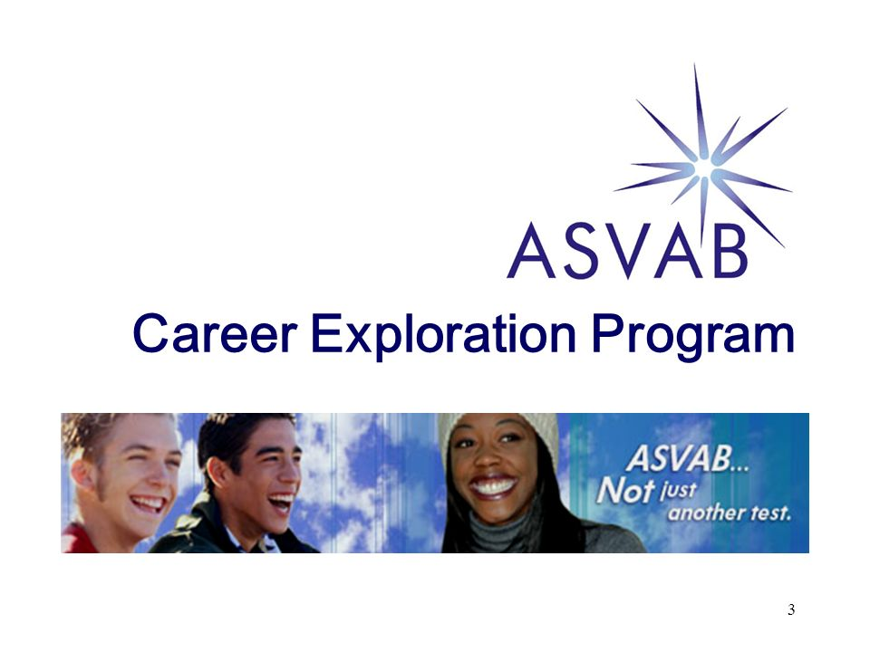 3 Career Exploration Program