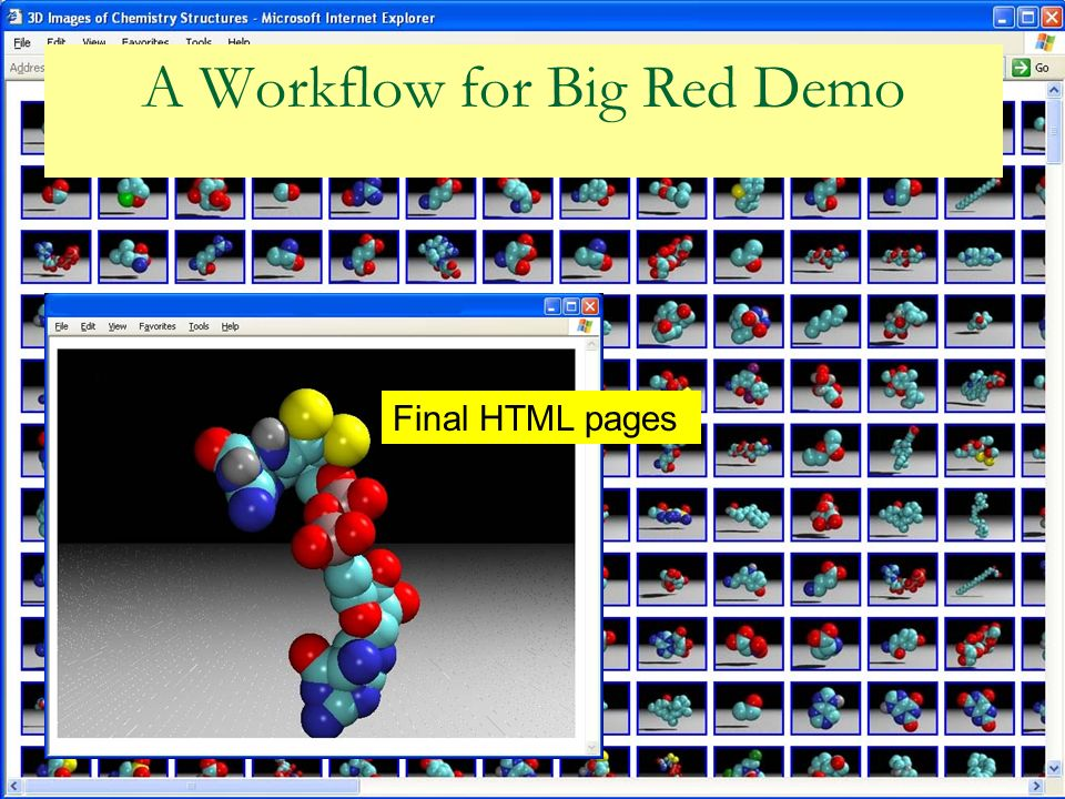 A Workflow for Big Red Demo Final HTML pages