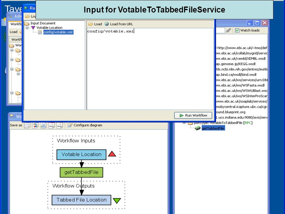 Community Grids Lab4 Input for VotableToTabbedFileService