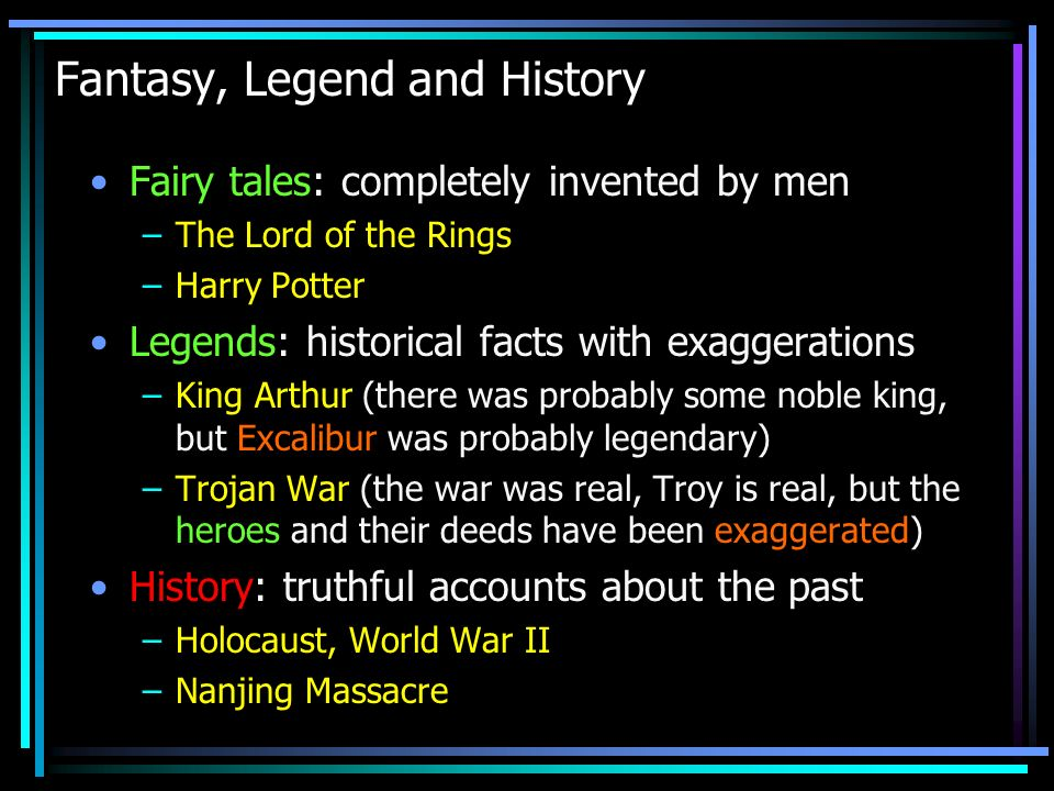 How to tell if some account is Historical .From Historical Evidence !!.