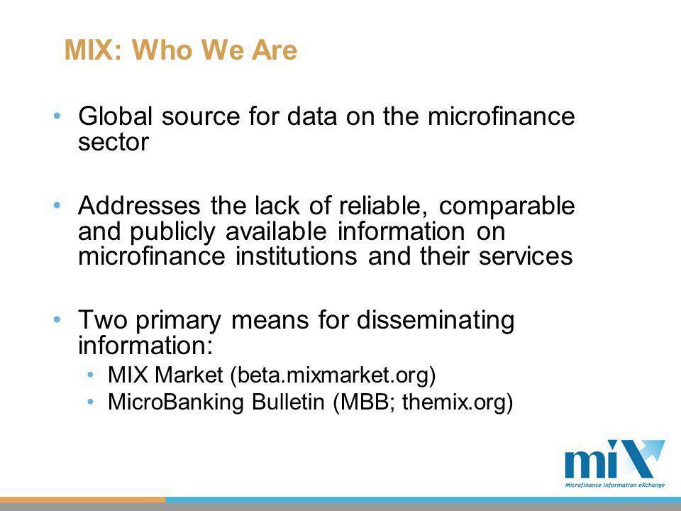 MIX: Current Implementation