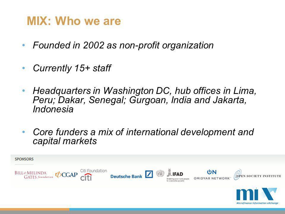 MIX Taxonomy: Extending IFRS 2009MIX