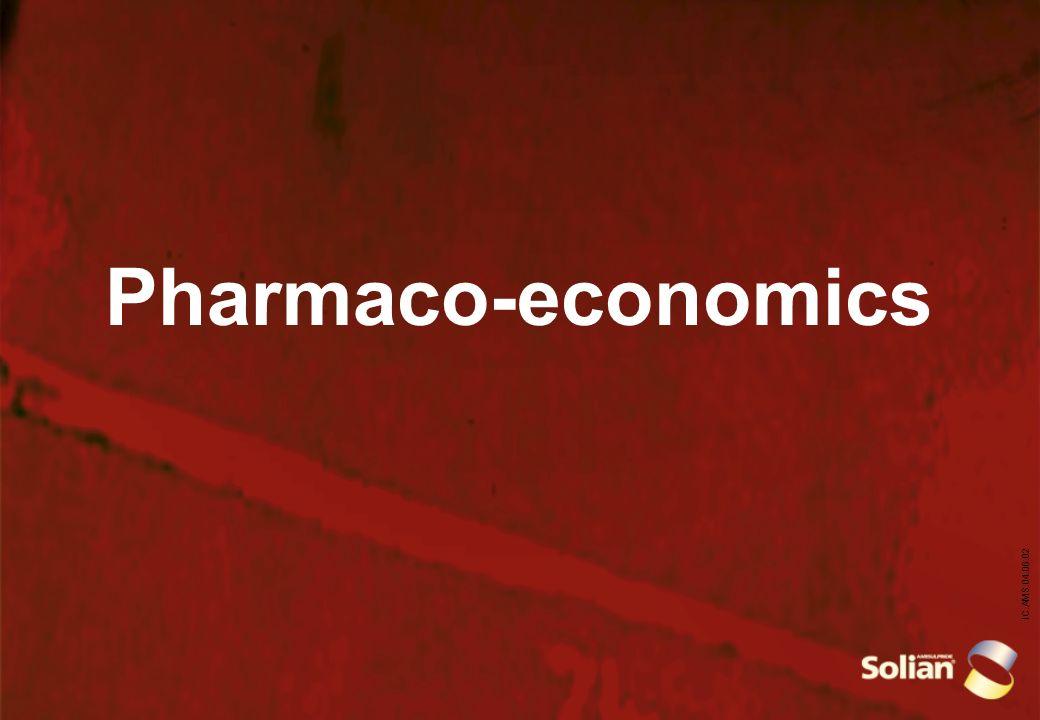 IC.AMS.04.06.02 Pharmaco-economics