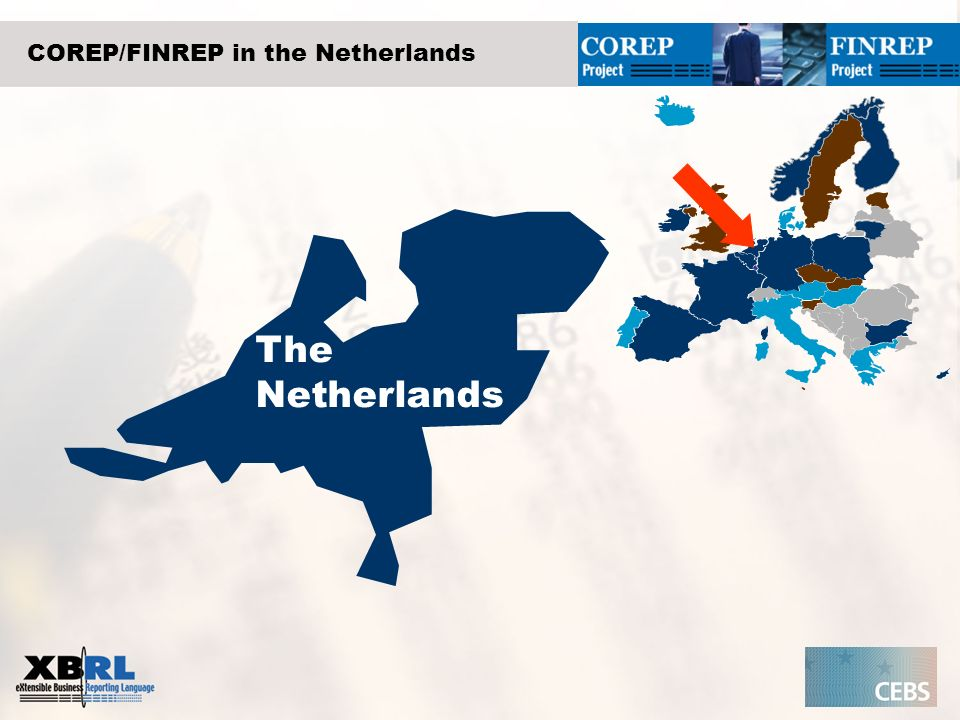COREP/FINREP in the Netherlands The Netherlands