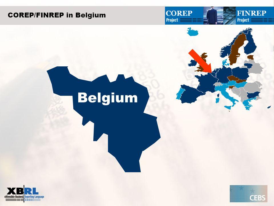 COREP/FINREP in Belgium Belgium
