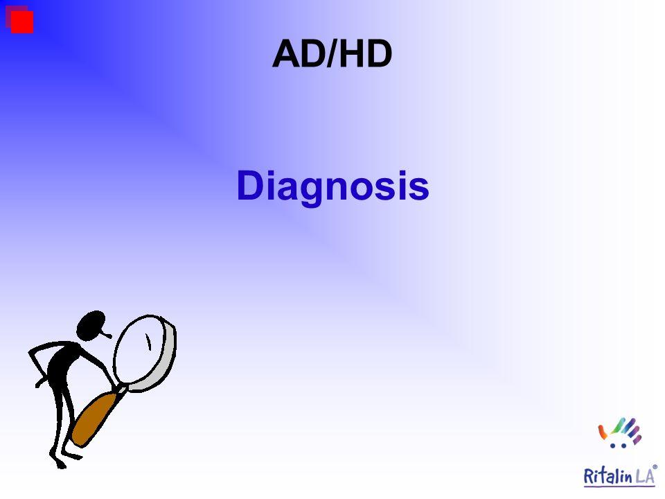 AD/HD Diagnosis