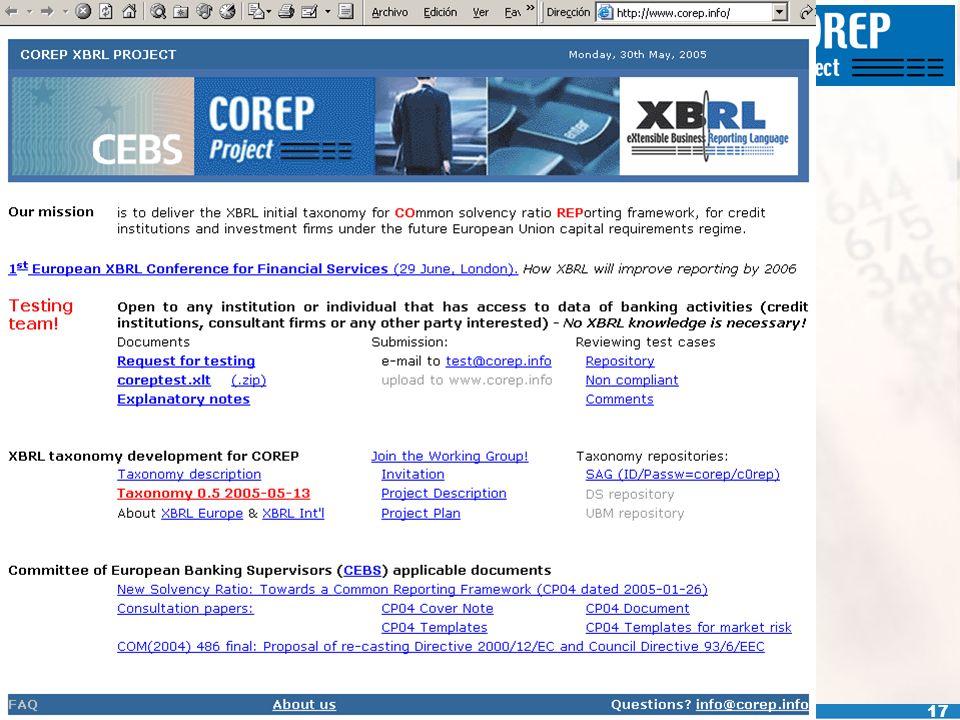 www.corep.info 17
